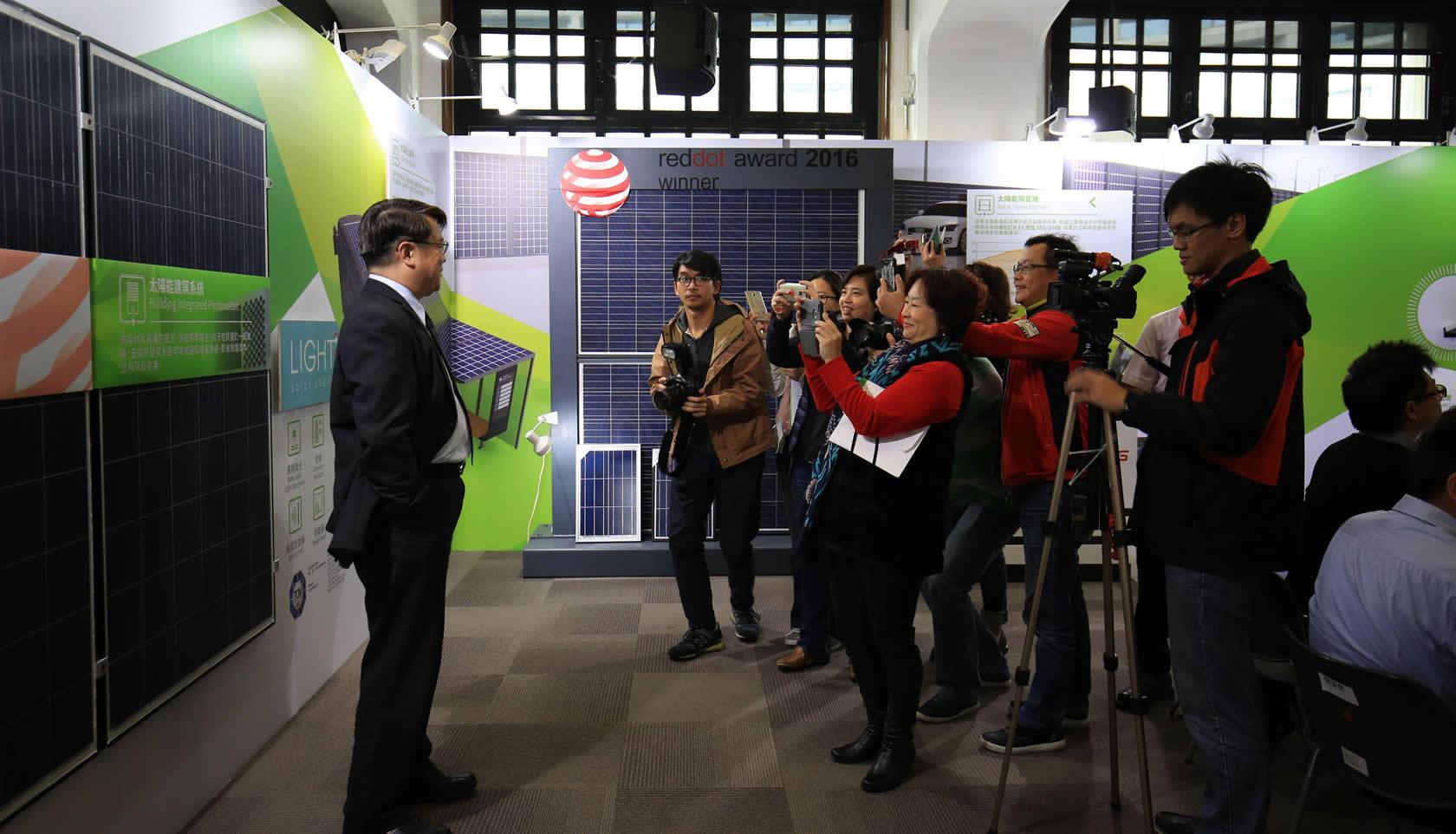 讓德國紅點也喊讚的綠能科技 「輕量化太陽能模組」
